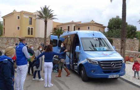 Deutsche Touristen auf Mallorca.