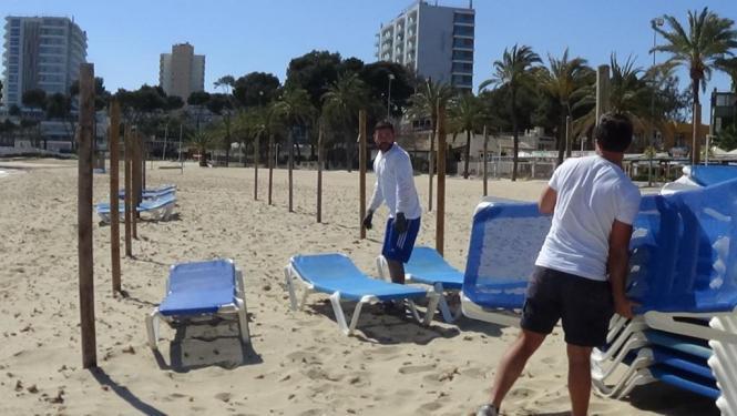 Die Strandsaison in Calvià wird ab dem 1. Mai eingeläutet.