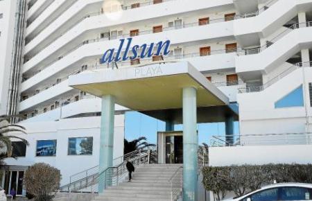 Blick auf ein Hotel auf Mallorca.