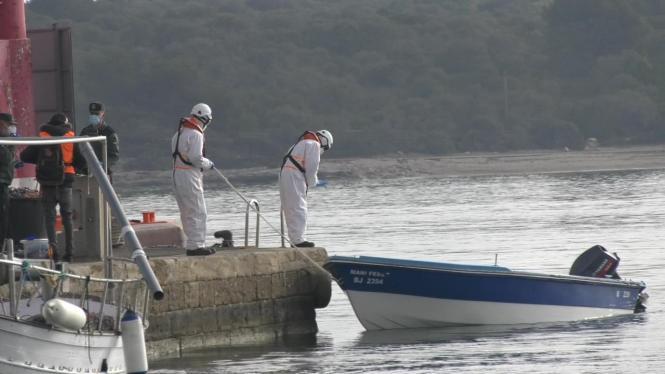 Vor der Küste Mallorcas wurden am Freitag zwei Flüchtlingsboote lokalisiert.