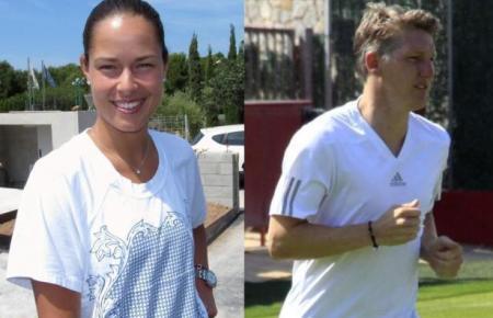 Die Archivbilder zeigen Ana Ivanovic und Bastian Schweinsteiger 2016 auf Mallorca.