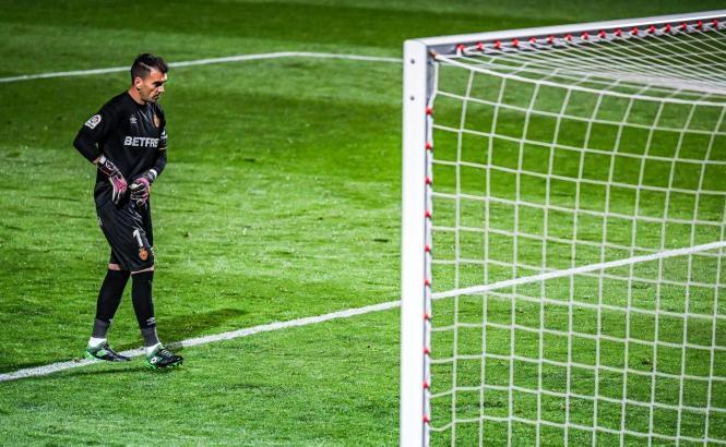 Real-Mallorca-Keeper Manolo Reina war der Verlierer des Spiels.