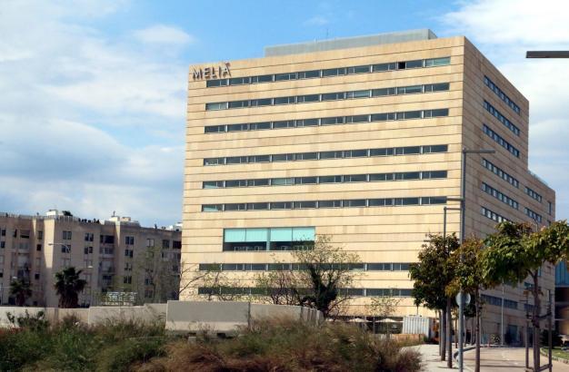 Das Tagungshotel Meliá Palma Bay wird vom balearischen Gesundheitsministerium als Quarantänehotel für Menschen benutzt, deren Corona-Test positiv ausfiel.