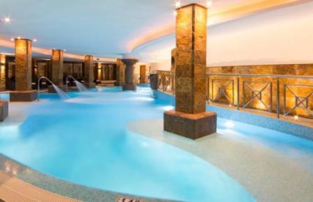 Das nunmehr geschlossene Spa des Hotels Valparaiso Palace in Palma.