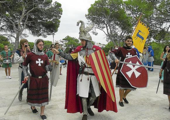 Seit Jahrzehnten feiert man im September die Ankunft von Jaume I. mit Kostümen an der Bucht von Santa Ponça.