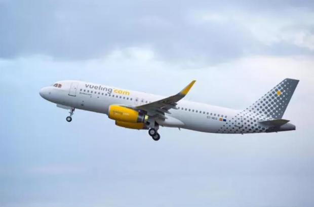 Auf einem Vueling-Flug gab es am Freitagmorgen einen Schreckmoment.