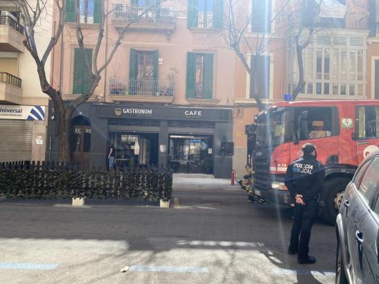 Der Vorfall ereignete sich in der Carrer Arxiduc Lluís Salvador.