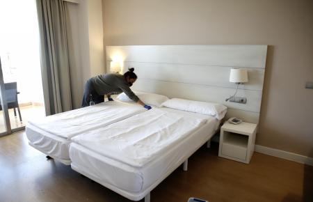 Das Allsun-Hotel Pil·larí an der Playa de Palma öffnete noch vor der Karwoche.