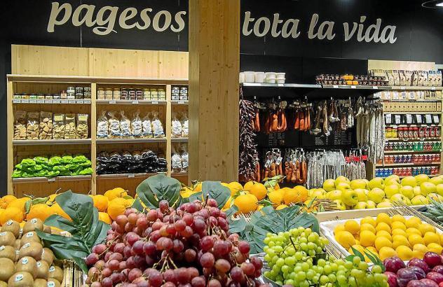 In den Läden werden in erster Linie regionale Produkte der Insel angeboten.