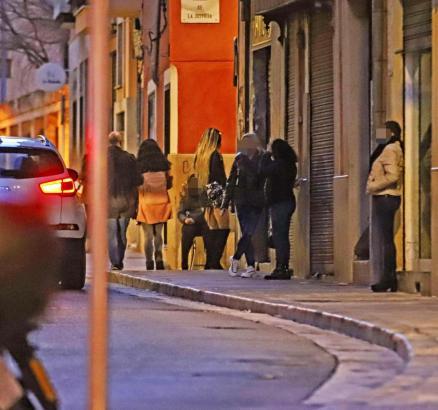 Prostituierte in Palma.