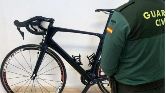 Das gestohlene Fahrrad.