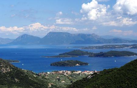 Inseln im zu Griechenland gehörenden Ionischen Meer.
