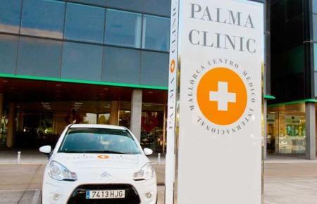Die Palma Clinic befindet sich am Camí dels Reis.
