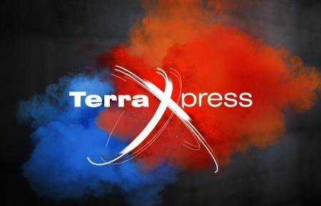 Das Logo der Serie TerraXpress.