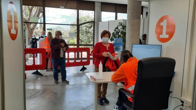 Auch auf Mallorca ist die Impfkampagne in vollem Gange.