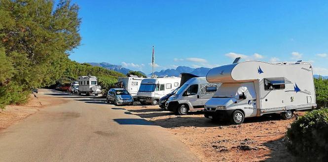 Auf Mallorca gibt es wenige Abstellplätze für Wohnmobile.