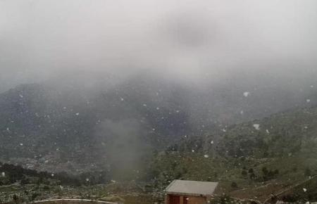 So sah es am Samstagmorgen zeitweise im Tramuntana-Gebirge aus.