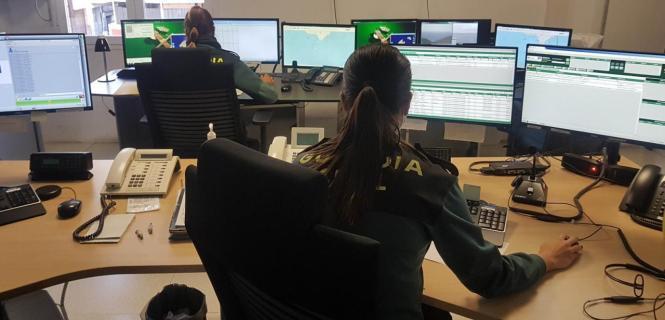 Die Notfallzentrale der Guardia Civil auf Mallorca.
