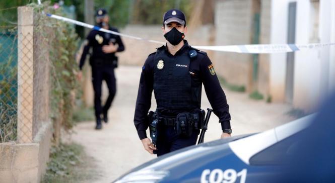 Spanische Nationalpolizisten im Einsatz.