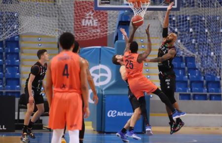 Basketballspieler auf Mallorca.