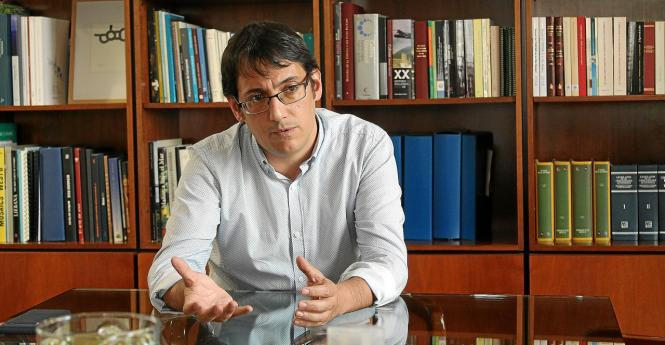 Der balearische Tourismus- und Arbeitsminister Iago Negueruela.