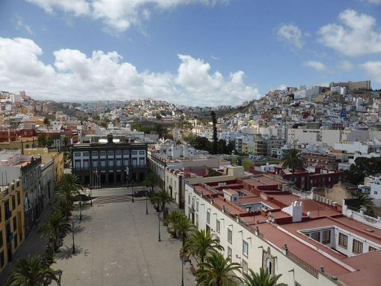 Blick auf Las Palmas de Gran Canaria.