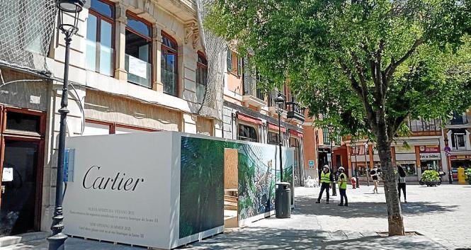 Das Juweliergeschäft befindet sich künftig auf dem Rathausplatz in Palma.