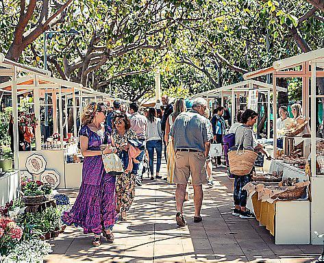 """Der """"Farmers' Market"""" findet jährlich im Mai statt."""