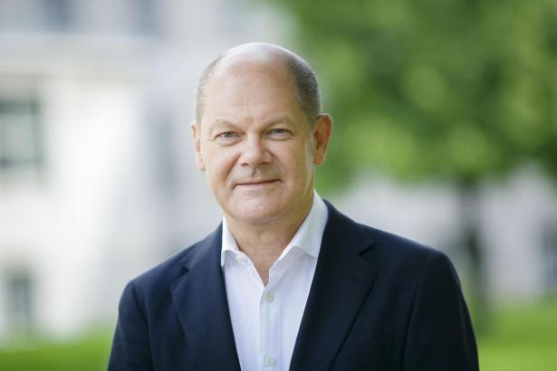 Bundesfinanzminister Olaf Scholz geht für die SPD in das Rennen um die Merkel-Nachfolge.