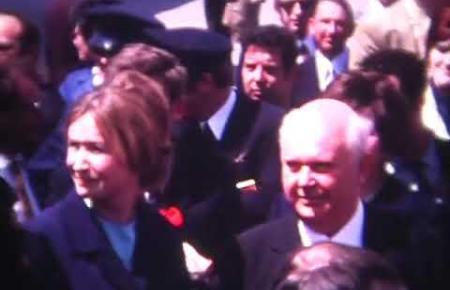 Ein Video von dem historischen Ereignis.