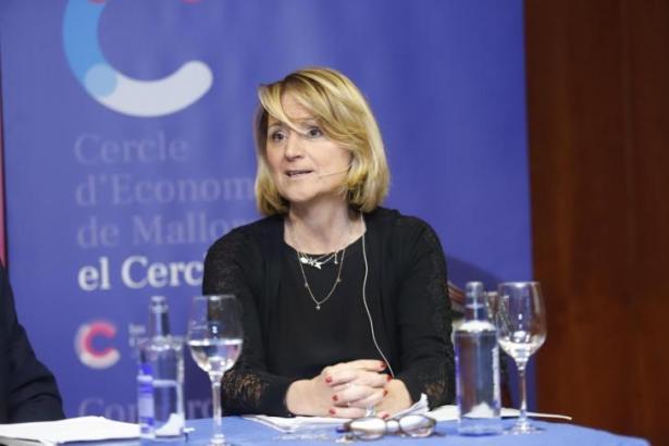 Das Archivbild zeigt die Europaabgeordnete von Mallorca, Rosa Estaràs, bei einer Tagung in Palma.