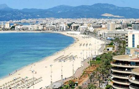 An der Playa de Palma sind im Mai 20 Hotels geöffnet.