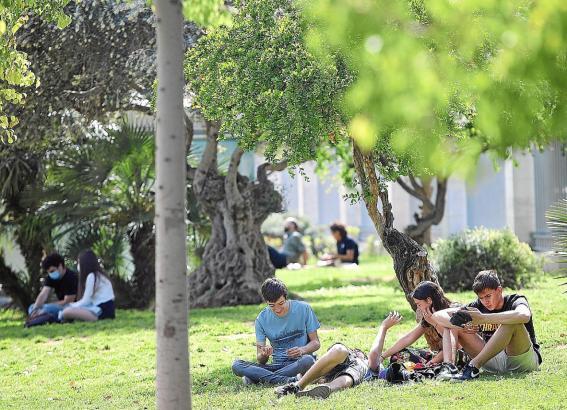 Ignorieren immer wieder die Corona-Regeln: Jugendliche auf Mallorca.