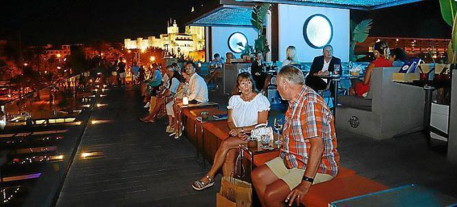 Nachtlokal auf Mallorca vor der Corona-Pandemie.
