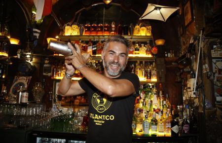 """Barkeeper """"Rolo"""" war so etwas wie das Gesicht des Atlántico."""