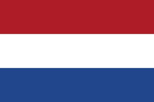Die Flagge der Niederlande.