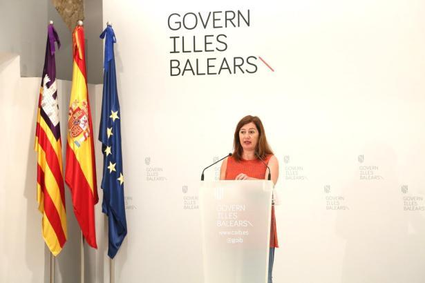 Die Ministerpräsidentin der Balearen, Francina Armengol.