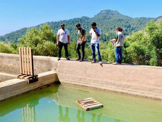 Auf der Finca Galatzó wurden am Wochenende Vogelschutzzonen eingerichtet.