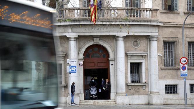 Im Gerichtsgebäude in der Via Alemania in Palma soll der Prozess stattfinden.