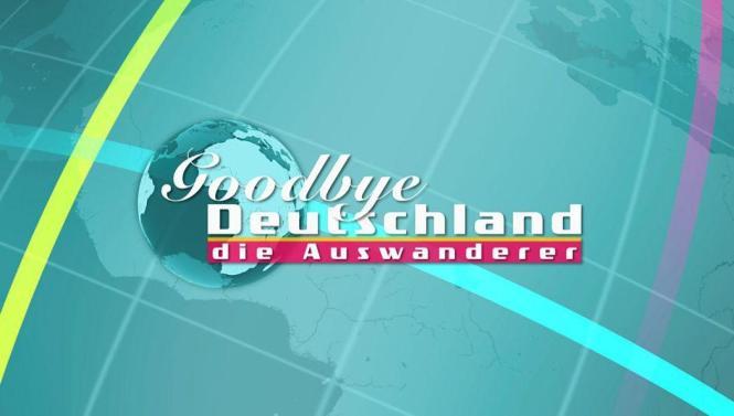 Das Logo von Goodbye Deutschland.