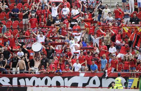 Selbst wenn am Sonntag Fans im Visit Mallorca Estadi zugelassen sein sollten, wird es so nicht aussehen. Denn dann ist Abstand angesagt ...