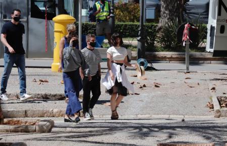 Die Schauspielerin hält sich derzeit in Palma auf.