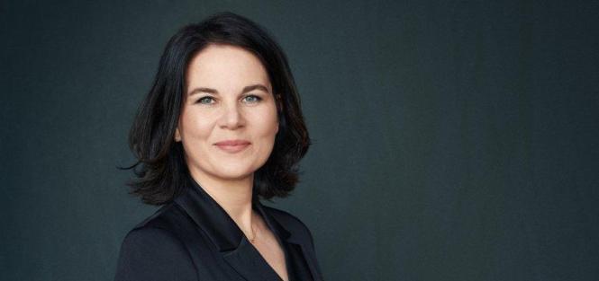 Die grüne Kanzlerkandidatin Annalena Baerbock.
