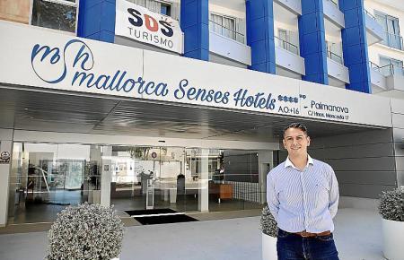 Juanjo Cerdó von Mallorca Senses Hotels in Palmanova ist einer der Hotelchefs, die für die kommenden Wochen auf Übernachtungen von erholungssuchenden Inselresidenten setzen.