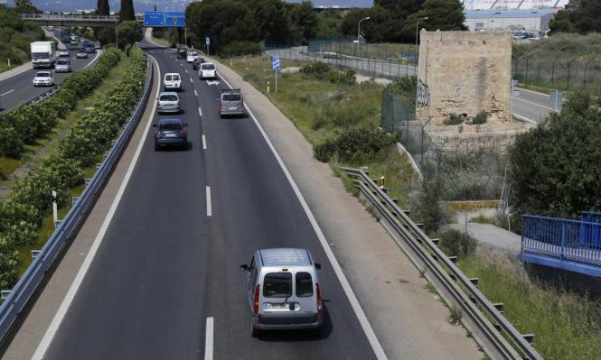 Im Bild die Autobahn zwischen Palma und Llucmajor: Sie erhält eine Verlängerung bis Campos.