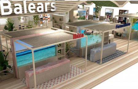 Der Balearen-Stand auf der internationalen Tourismusmesse Fitur.