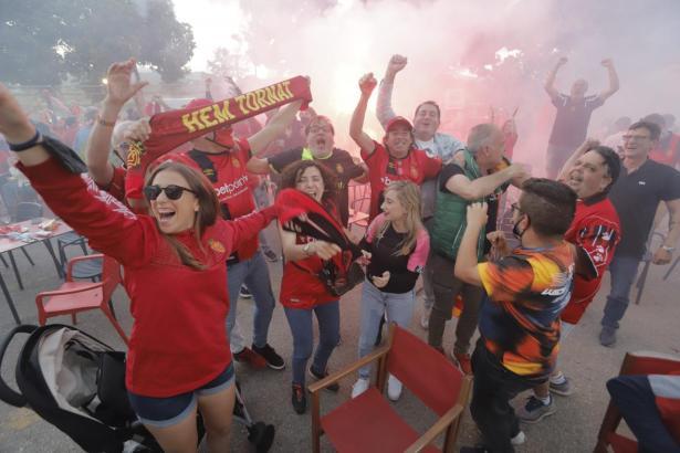 Real Mallorca spielt nun wieder in der ersten spanischen Liga.