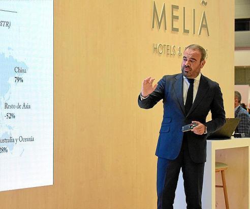 Gabriel Escarrer Jaume befindet sich derzeit auf der Fitur in Madrid.