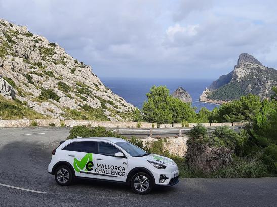 """Im Rahmen der """"eMallorca Challenge"""" sollen unter anderem mit E-Autos die schönsten Ecken der Insel erkundet werden."""