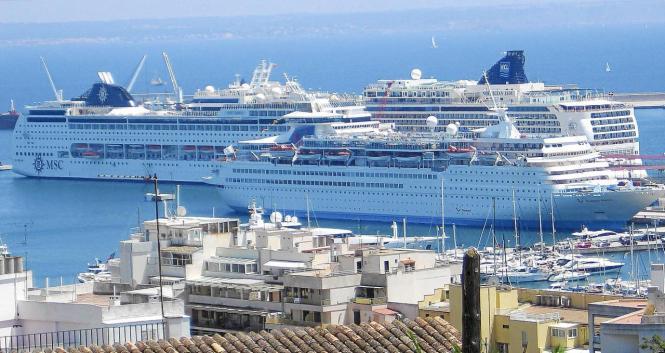 So könnte es schon bald wieder im Hafen von Palma aussehen.